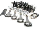 Brian Crower - Stroker Kit - Honda/Acura B18/B20 Series, 95Mm Crank, Long Rod, Custom Pistons, Bearings