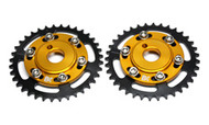 Brian Crower - Adjustable Cam Gears W/Arp Fastener Bolts - (Mitsubishi 6G72) - Set/4