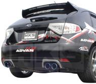 HKS [Subaru Impreza(2008-2009)] HKS Legamax Exhaust Legamax Exhaust; Includes Center Pipe; For use with HKS Bellmouth Downpipe #33006-BF003