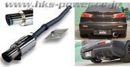 HKS Racing Muffler Lancer EVO X