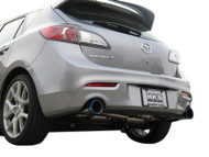 HKS [Mazda 3(2007)] HKS Hi-Power Exhaust Hi-Power Exhaust