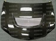 Seibon Carbon Fiber OEM Hood - Mistubishi Evo 03-07