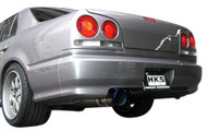 HKS SUPER TURBO MUFFLER ER34(4door) RB25DET
