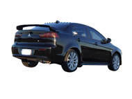 HKS [Mitsubishi Lancer(2008)] HKS Hi-Power Exhaust Hi-Power Ti Exhaust; Rear section w/ sound resonator and adjustable length Ti tip