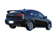 HKS [Mitsubishi Lancer(2008)] HKS Hi-Power Exhaust Hi-Power Ti Exhaust; Rear section w/ sound resonator and adjustable length Ti tip