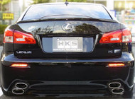 HKS Lexus IS-F SSM Exhaust (2008+); Includes: SUS304 Y-pipe & rear sections