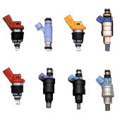 HKS [Universal] HKS Fuel Injectors Injector; Top Feed; Includes Injector Harness