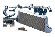 HKS [Nissan Silvia(1999-2002)] HKS Intercooler Kits Intercooler Kit; Polished Aluminum Piping; JDM Special Order