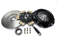 "Competition Clutch - Nissan Silvia ""White Bunny"" Upgrade for SR20DET - 6 Puck Clutch"