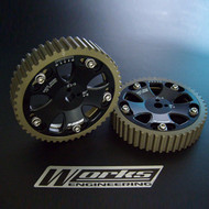 Works Engineering Adjustable Cam Gear Set for Mitsubishi Evolution