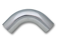 "Vibrant Performance - 2.5"" O.D. Aluminum 90 Degree Bend - Polished"