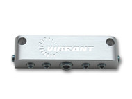 Vibrant Performance - Aluminum Vacuum Manifold - Anodized Silver