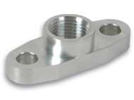 "Vibrant Performance - Aluminum Oil Flange for GT32-GT55R (Tapped - 1/2"" NPT)"