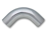 "Vibrant Performance - 3.5"" O.D. Aluminum 90 Degree Bend - Polished"