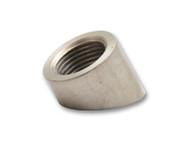 Vibrant Performance - 45 deg Angled Oxygen Sensor Weld Bung, (M18 x 1.5 Thread) - Bulk Pack of 100 pcs.