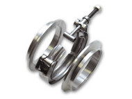"Vibrant Performance - Aluminum V-Band Flange Assembly for 2.5"" O.D. Tubing"