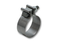 "Vibrant Performance - Stainless Steel Seal Clamp for 2.25"" O.D. tubing (1.25"" wide band)"