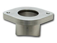 Vibrant Performance - Weld On Flange Kit for Greddy BOV (Steel Weld Fitting / Alum Flange)