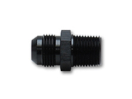 "Vibrant Performance - Straight Adapter Fitting; Size: -8AN x 3/8"" NPT"