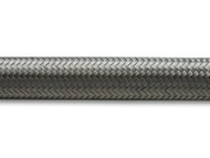 Vibrant Performance - 2ft Roll of Stainless Steel Braided Flex Hose; AN Size: -8; Hose ID 0.44""