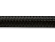 Vibrant Performance - 10ft Roll of Black Nylon Braided Flex Hose; AN Size: -6; Hose ID: 0.34""