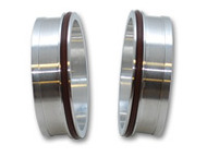 "Vibrant Performance - Aluminum Weld Fitting with O-Rings for 2-1/2"" Tube O.D."