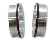 """Vibrant Performance - Vanjen Weld Fittings for 4"""" OD Tubing (For Use with Part 12588) - Sold in Pairs"""