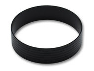 "Vibrant Performance - Aluminum Union Sleeve for 3-1/2"" Tube O.D. - Hard Anodized Black"