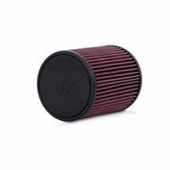 "Mishimoto - Mishimoto Performance Air Filter, 3.00"" Inlet, 6"" Filter Length"