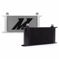 Mishimoto - Universal 19 Row Oil Cooler, Black