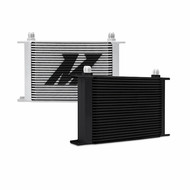 Mishimoto - Universal 25-Row Oil Cooler, Black