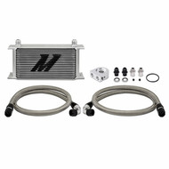 Mishimoto - Universal Thermostatic 10 Row Oil Cooler Kit