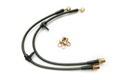 Agency Power Brake Lines Front Subaru STI 04-07