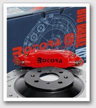 ROTORA BIG BRAKE KIT FOR 1993-98 SUPRA - REAR - 4 PISTON CALIPER