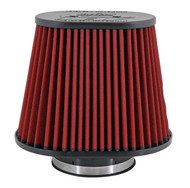 "AEM DryFlow Air Filter - Air Filter; Tapered Flg 5 X 8"" Dsl Oval Dryflow"
