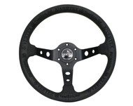 "Vertex ""King"" 330mm Steering Wheel Black"