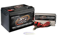 XS Power Batteries - XP1000 16V Battery and 1004 16V, 15A IntelliCharger Combo
