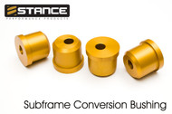 Stance  Subframe Conversion Bushing Set - 240sx S13/S14