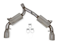 Hooker BlackHeart Axel-Back Dual Exhaust for Scion FR-S & Subaru BRZ