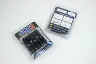 Muteki SR45R Lug Nuts (12x1.50 pitch) - Black- 45mm