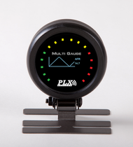 "PLX DM-6 2 1/16"" Touch Screen Multi-Gauge"