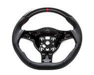 Agency Power Sport Steering Wheel Round Airbag Leather Porsche 997 987 05-09
