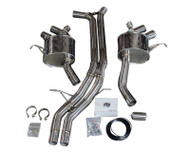 Agency Power Porsche Macan Turbo Back Exhaust System 2014-