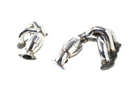 Agency Power High Flow Cat Headers Porsche 981 Boxster Cayman 13+