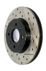 Powerslot Front Drilled and Slotted Rotors For 98-05 GS300