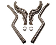 Agency Power Header and Section 1 Mid Pipes Mercedes-Benz C63 Coupe 12-14