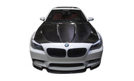 Agency Power Carbon Fiber Hood with Vented Cowl BMW F10 M5 550 535 528 2011+