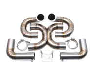 Agency Power Titanium Exhaust System Ferrari F430 Scuderia 08-09