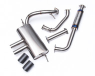 Agency Power Titanium Catback Exhaust w/Carbon Tips Ford Focus ST 2013+