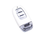 Agency Power White Rubber Key FOB Protection Case Audi A4 Allroad B8 10-14 A5 S5 A8 S8 A6 S6 RS4 RS5